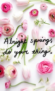 Its spring time even if it doesnt feel like it; Let us help you put the pep back into your walk by trying a new cut or color First Day Of Spring, Spring Is Here, Hello Spring, Spring Time, Happy Spring, Spring Wallpaper, Flower Quotes, Flower Sayings, Done With You