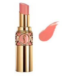 YSL peach passion. This lipstick is super creamy and smells delicious (like a peach)!