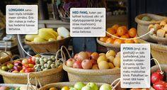 Thaimaan taivaalliset hedelmät #Finnmatkat
