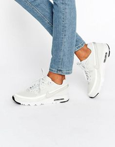 Nike | Nike Air Max 1 Ultra Trainers In Bone at ASOS