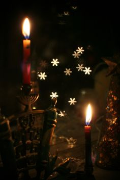First Night of Hanukkah - Photo by Fiona Beckman