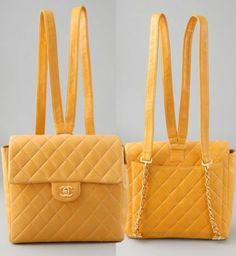 Chanel borse, zainetto vintage e bon ton