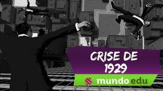Videoaula sobre Crise de 1929!  Mais educação, menos tédio! www.mundoedu.com.br