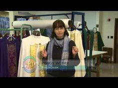 Beautiful handmade vestments - and a vocation story - from Chantal Artisans