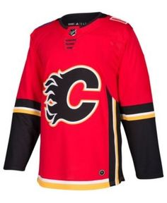 5da097232 adidas Men Calgary Flames Authentic Pro Jersey