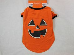 Halloween Dog Shirt Pumpkin Small Costume New #Target