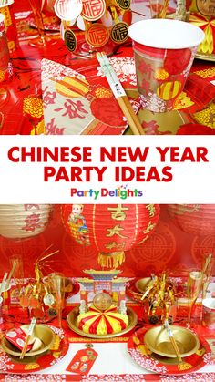 Celebrate Chinese New Year 2017 (and the beginning of the Year of the Rooster) with our Chinese New Year party ideas! Get Chinese New Year party food ideas, find out how to make Chinese lanterns and more.