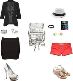 work/ vacation, created by nichellehoward on Polyvore