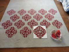 Painted rug DIY--going to try this TODAY!!