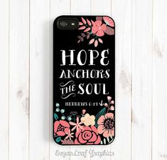Hey, I found this really awesome Etsy listing at https://www.etsy.com/listing/198868430/christian-quote-iphone-case-hope-anchors