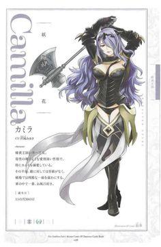 Artworks (4 Koma) - Camilla - Fire Emblem Wars Of Dragons