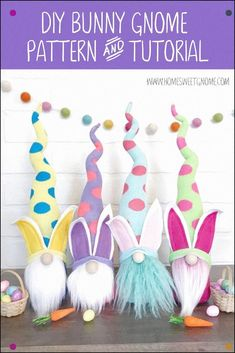 Fun Thanksgiving Crafts For Teens - Crafts Room Design Wall - Easy Crafts Videos For Toddlers To Make - Holiday Crafts Ideas For Kids Bunny Crafts, Easter Crafts, Easter Decor, Easter Ideas, Easter Centerpiece, Easter Projects, Easter Table, Easter Party, Craft Projects
