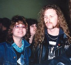 Me and James Hetfield of Metallica 03/02/1989 | Flickr - Photo ...