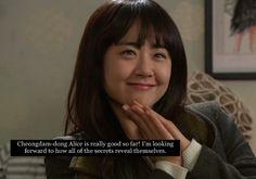 Cheongdam-dong Alice ♥ Moon Geun Young as Han Se Kyung (Alice) ♥ Park Shi Hoo as Cha Seung Jo (Mad Hatter)