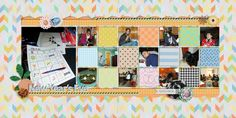 Family Album 2014: New Year's Eve layout by Tina Shaw   Pixel Scrapper digital scrapbooking