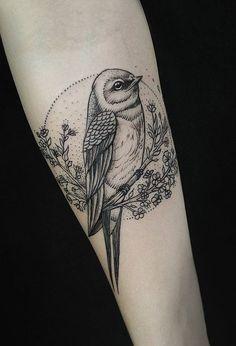 Bird tattoo - 50 Lovely Bird Tattoo Designs