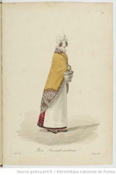 Servant/ maid/ housekeeper?. Servante-maitresse. Costumes d'ouvrières parisiennes / par Gatine - 37