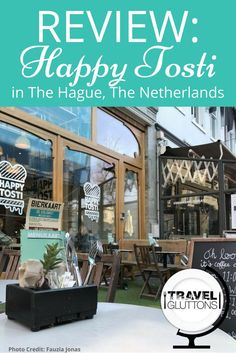 Having lunch at Happy Tosti in The Hague not only makes your palette very happy, but the experience in itself is a very happy one!