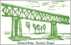 10 Bridges of the Willamette:  Sellwood Bridge