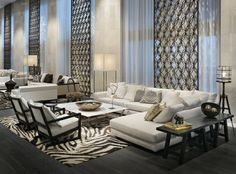 hotel chic living room - Google Search