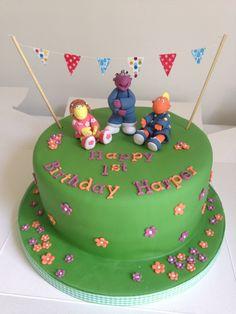 Tweenies birthday cake