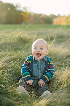 So happy this little fellow is! I can learn something from this precious baby!