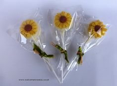 Sunflower Cake Pop Favours | Flickr - Photo Sharing!