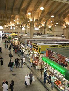 Mercado municipal, São Paulo, Brazil.