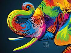 Coloridas Ilustraciones Vectoriales de Animales - Taringa!