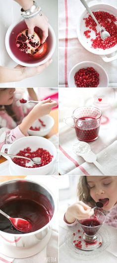 2 INGREDIENT POMEGRANATE PUDDING : GLUTEN-FREE, VEGAN, QUICK AND EASY