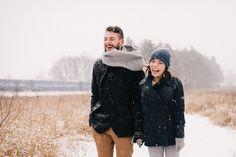 lovestory, engagement, winter, smile, love, couple, snow More pictures you will find here: http://www.kobruseva.com/snezhnaja-lavstori-koby-i-mariny
