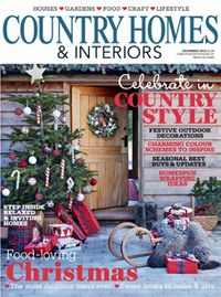 £26.99 for a year's subscription - Country Homes & Interiors magazine