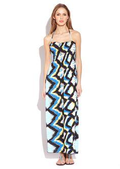 trippy maxi dress