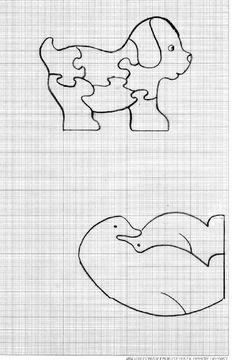 puzzle bois - les créa de kat                              …                                                                                                                                                                                 Plus