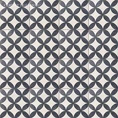 Cement Tile Shop - Handmade Terrazzo Cement Tile | Circulos White