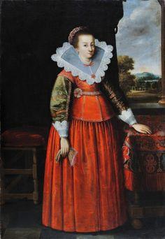 1640 Portrait of a lady.(  National Museum, Gdańsk)