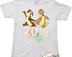 Camiseta Infantil Tico e Teco.