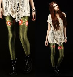 SPORE PAPHIA (by Ebba Zingmark) http://lookbook.nu/look/4769659-Lovelysally-Leggings-Spore-Paphia http://store.lovelysally.com/collections/whats-new/products/paphia-leggings