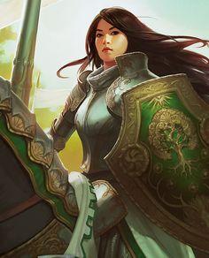 The Art of War – HD Fantasy Battle Scene Wallpapers | Sci-Fi Art