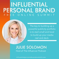 """""""Brands love micro influencers. You don't need a huge following to get a brand deal."""" Julie Solomon is an expert in digital marketing, PR, and personal branding and is the Founder of Pitch It Perfect, The Influencer Academy, and host of The Influencer Podcast. She has been featured in Forbes, Huffington Post, and People Magazine. With her viral podcast achieving millions of downloads in more than 170 countries, Julie was recently named as one of the Top 100 leaders in influencer marketing. Kevin Harrington, Julie Solomon, Miss Nevada, Building A Personal Brand, Radio Personality, Brand Strategist, Keynote Speakers, Instagram Influencer, People Magazine"""