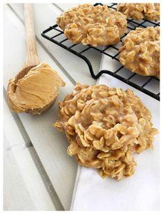 Peanut Butter No Bake Cookies