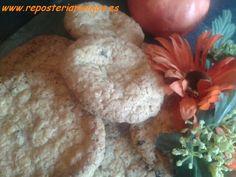 Galletas de avena y chocolate con sabor a naranja