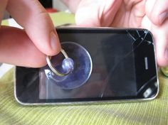 ...how to replace a cracked iphone screen for under $10.00... Just in case I ever need to...I'll be glad I pinned this