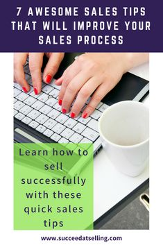 Learn how to sell successfully with these 7 quick sales tips to improve your sales process quickly. Business Baby, Business Sales, Business Advice, Break A Habit, Sales Process, Successful Online Businesses, Sales Tips, Competitor Analysis, Sales And Marketing