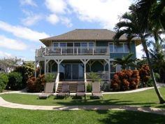 Maui North Shore Oceanfront CottageVacation Rental in Paia from @HomeAway! #vacation #rental #travel #homeaway