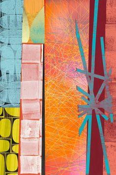 Randall by Rex Ray Collage Techniques, Art Sketchbook, T Rex, Pattern Art, Collage Art, Graphic Art, Contemporary Art, Street Art, Abstract Art
