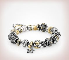 This is my style Pandora bracelet! Too bad it's 2275.00