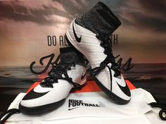NEW Nike Mercurial X Proximo IC Indoor Soccer 718774-100 SZ-10.5 Black white b83887b168776