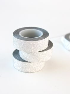 SILVER GLITTER CRAFT TAPE Glitter Crafts, Tape Crafts, Craft Shop, Silver Glitter, Washi, Wedding Rings, Engagement Rings, House, Jewelry