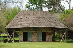 The African House on Melrose Plantation